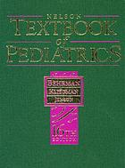 Nelson textbook of pediatrics.