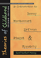 Theories of childhood : an introduction to Dewey, Montessori, Erikson, Piaget, and Vygotsky