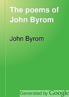 The poems of John Byrom