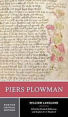 Piers Plowman : the Donaldson translation, Middle English text, sources and backgrounds, criticism