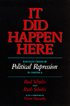 It did happen here : recollections of political repression in America