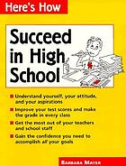 Succeed in high school