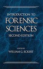 Introduction to forensic sciences