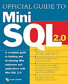 Official guide to Mini SQL 2.0