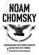 Imperial ambitions : conversations with Noam Chomsky on the post 9/11 world