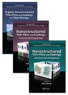 Nanostructured thin films and coatings : functional properties