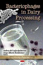 Bacteriophages in dairy processing