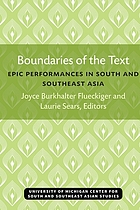 Boundaries of the text : epic performances in South and Southeast Asia