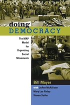 Doing democracy :bthe MAP model for organizing social movements