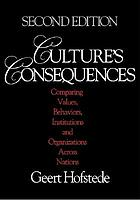 Culture's consequences : comparing values, behaviors, institutions, and organizations across nations