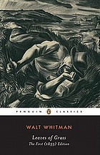 Walt Whitman's leaves of grass : first (1855) edition