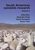 South American camelids research Volume 2