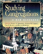 Studying congregations : a new handbook