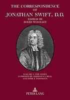 The correspondence of Jonathan Swift