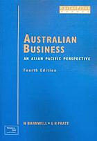 Australian business : an Asian Pacific perspective