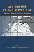 Getting the triangle straight : managing China-Japan-US relations