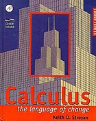 Calculus : the language of change