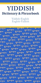 Yiddish Dictionary & Phrasebook