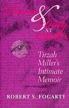 Desire and duty at Oneida : Tirzah Miller's intimate memoir