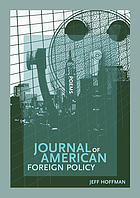 Journal of American foreign policy