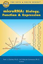MicroRNAs : biology, function, and expression
