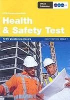 Heath and safety testing in construction : edition 8.