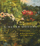 G. Ruger Donoho : a painter's path