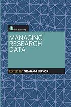 Managing research data