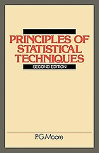 Principles of statistical techniques: a first course from the beginnings for schools and universities, with many examples and solutions,