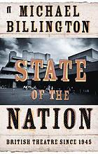 State of the nation : British theatre since 1945