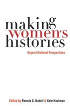 Making women's histories : beyond national perspectives