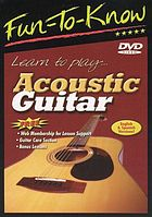 Learn to play-- : acoustic guitar.