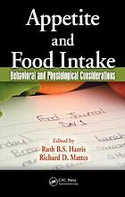 Appetite and food intake : behavioral and physiological considerations