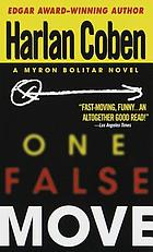 One false move : a Myron Bolitar novel