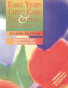 Early years : child care and education