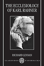 The ecclesiology of Karl Rahner