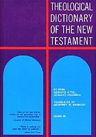 Theological dictionary of the new testament ebook 1964 worldcat theological dictionary of the new testament fandeluxe Gallery