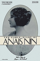 The early diary of Anaïs Nin