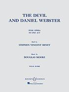 The devil and Daniel Webster : folk opera in one act
