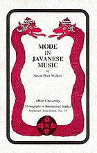 Mode in Javanese music