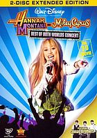 Hannah Montana and Miley Cyrus. Best of both worlds concert