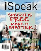 ISpeak : public speaking for contemporary life