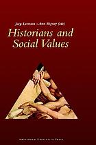 Historians and social values