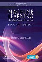 Machine learning : an algorithmic perspective