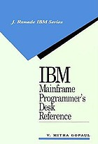 IBM mainframe programmer's desk reference