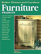Furniture projects.