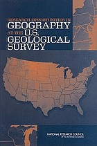 Research opportunities in geography at the U.S. Geological Survey