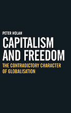 Capitalism and freedom : the contradictory character of globalisation