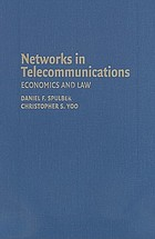 Networks in telecommunications : economics and law