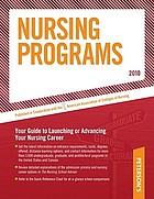 Peterson's nursing programs 2010.